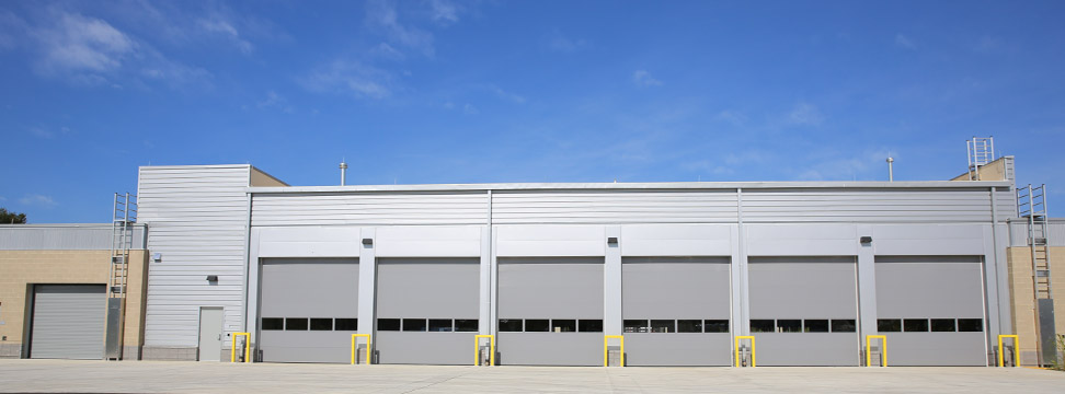 insulated commercial garage doors