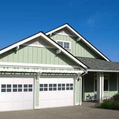 Rail and Stile Wood Garage Doors