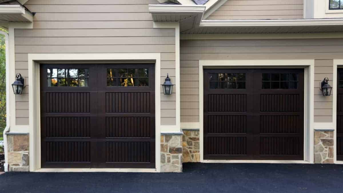 Fiberglass Garage Door Project By Overhead Door In Maryland