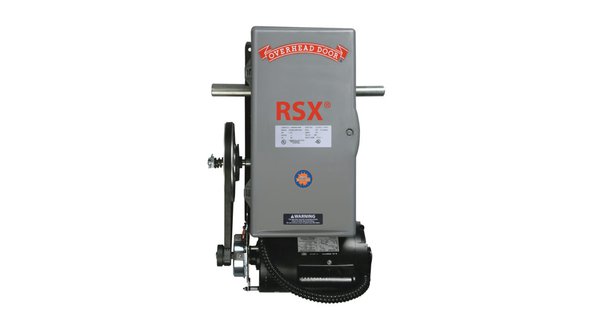 rsx commercial garage door operator by overhead door